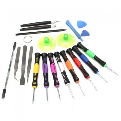 Professional 20 em 1 Repairing Openging Pry Tools Set Kit para Tablet Cell Phone