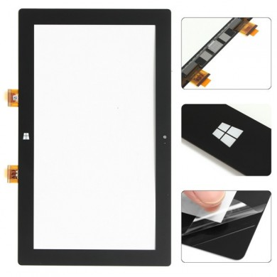 Vidro de digitalizador de tela de toque externo para tableta Microsoft Surface RT 1516
