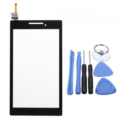 Touch Screen Digitizer Glass Lens Tablet Parts Para Lenovo Tab 2 A7-20F Preto