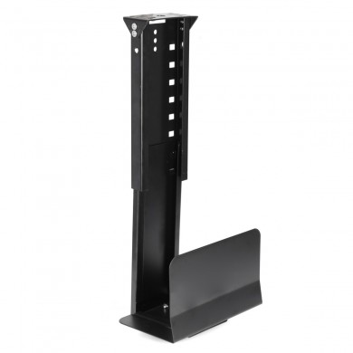 Adjustable Under Desk PC Mount Computer Host Case Holder