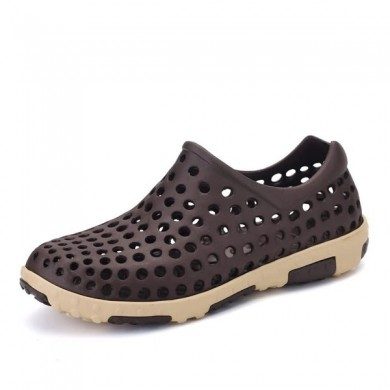Hollow Out Slip On Breathable Casual Flat Shoes