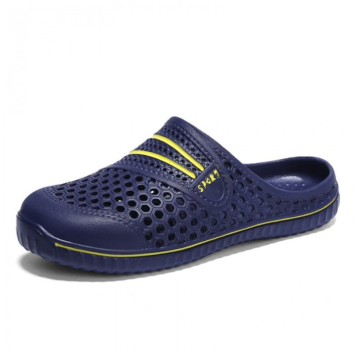 Men Hollow Outs Outdoor Slippers Rainy